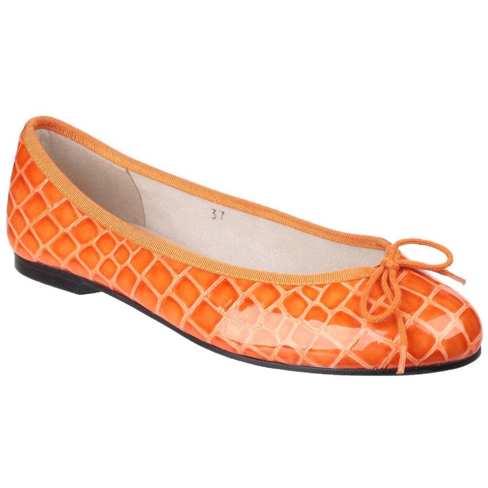 フレンチソール レディース シューズ・靴 パンプス【Henrietta Ballerina Pumps】orange