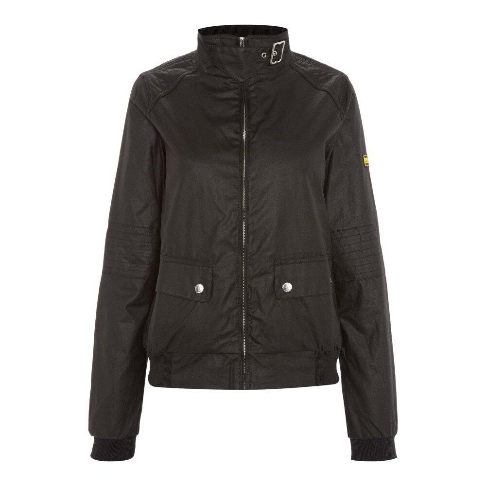 バーブァー レディース アウター ジャケット【International Tain Wax Jacket】black