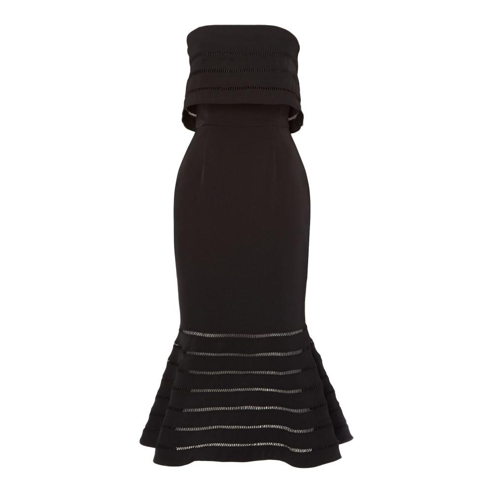 カメオ レディース ワンピース・ドレス パーティードレス【Bandeau Tube Midi Dress】black
