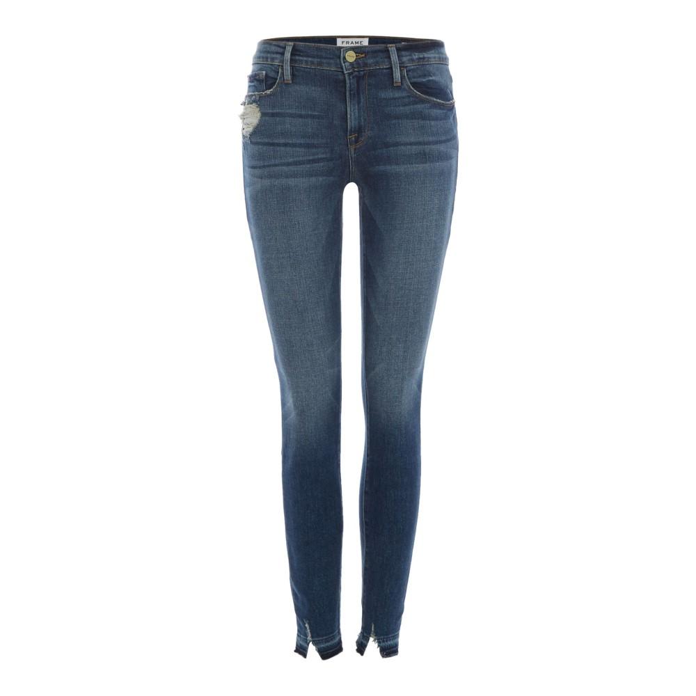 フレーム レディース ボトムス・パンツ ジーンズ・デニム【Le Skinny Jeans In Roberts】denim mid wash