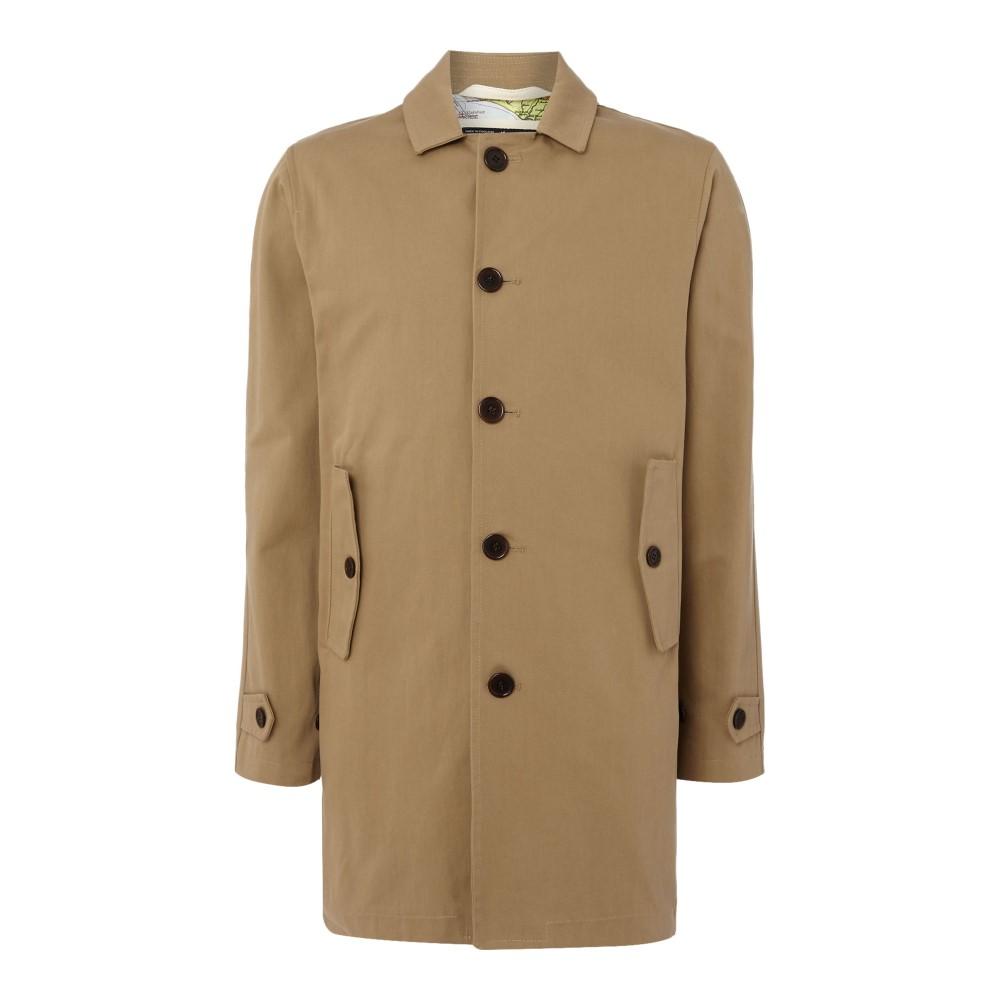 グローバーオール メンズ アウター【Cotton Car Coat】olive