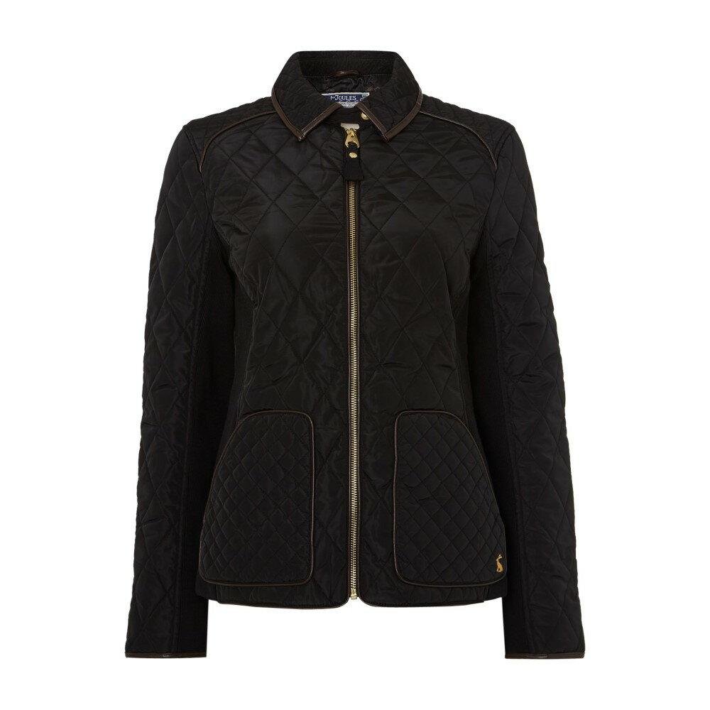 ジュールズ レディース アウター ジャケット【Quilted Coat】black