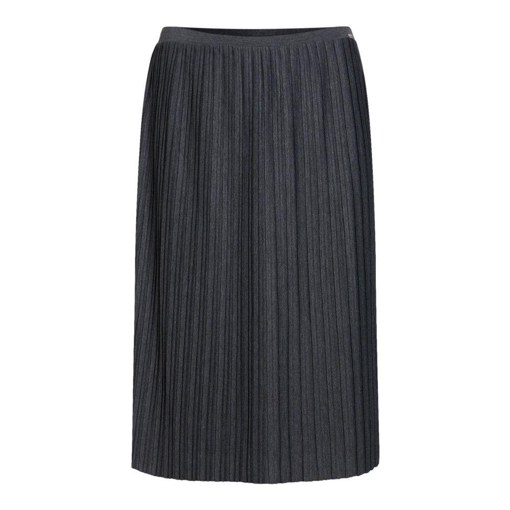 ヒューゴ ボス レディース スカート ひざ丈スカート【Tabell Midi Pleated Skirt】grey