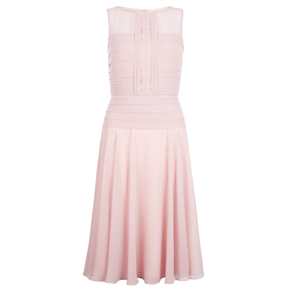 ホッブス レディース ワンピース・ドレス パーティードレス【Skylar Dress】light pink