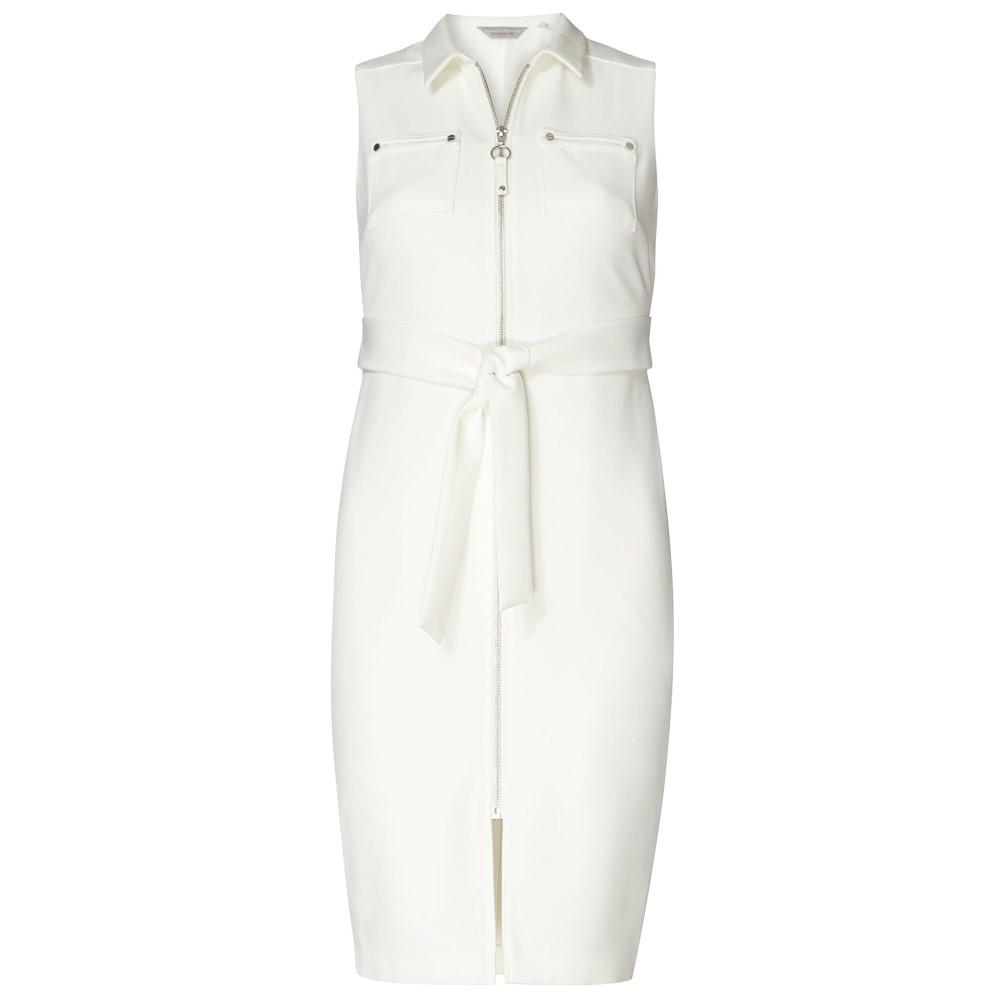 ドロシー パーキンス レディース ワンピース・ドレス ワンピース【Petite Belted Shirt Dress】white