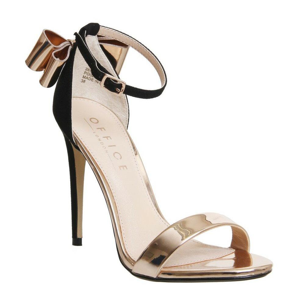 オフィス レディース シューズ・靴 サンダル・ミュール【Harriet Bow Sandals】black