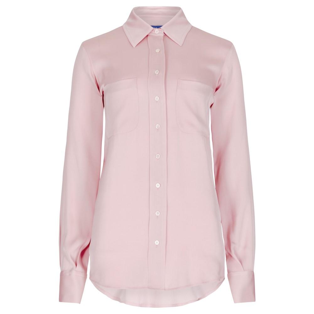 ウィンザー ロンドン レディース トップス ブラウス・シャツ【Silk Shirt】pink