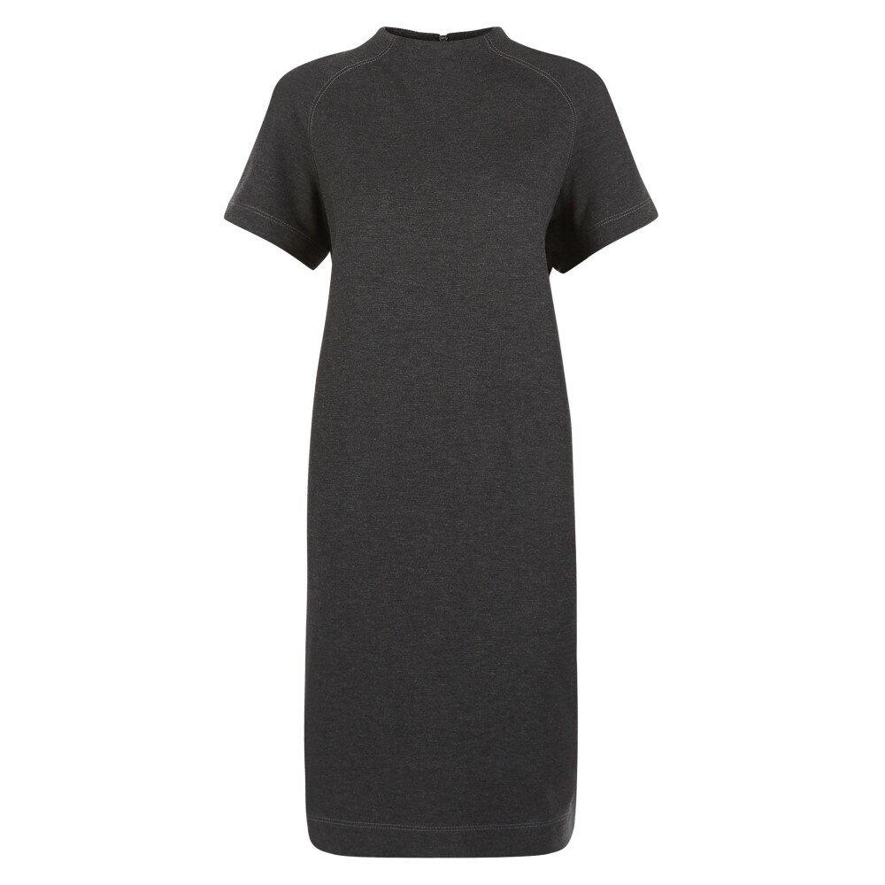 イエ-ガ- レディース ワンピース・ドレス ワンピース【Ponte Funnel Neck Dress】grey