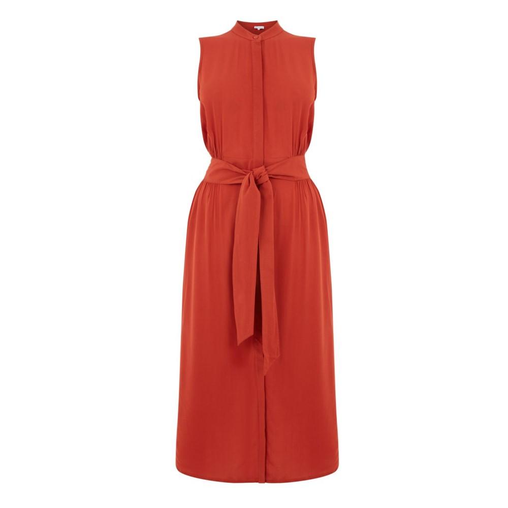 ウェアハウス レディース ワンピース・ドレス ワンピース【Open Back Sleeveless Dress】red