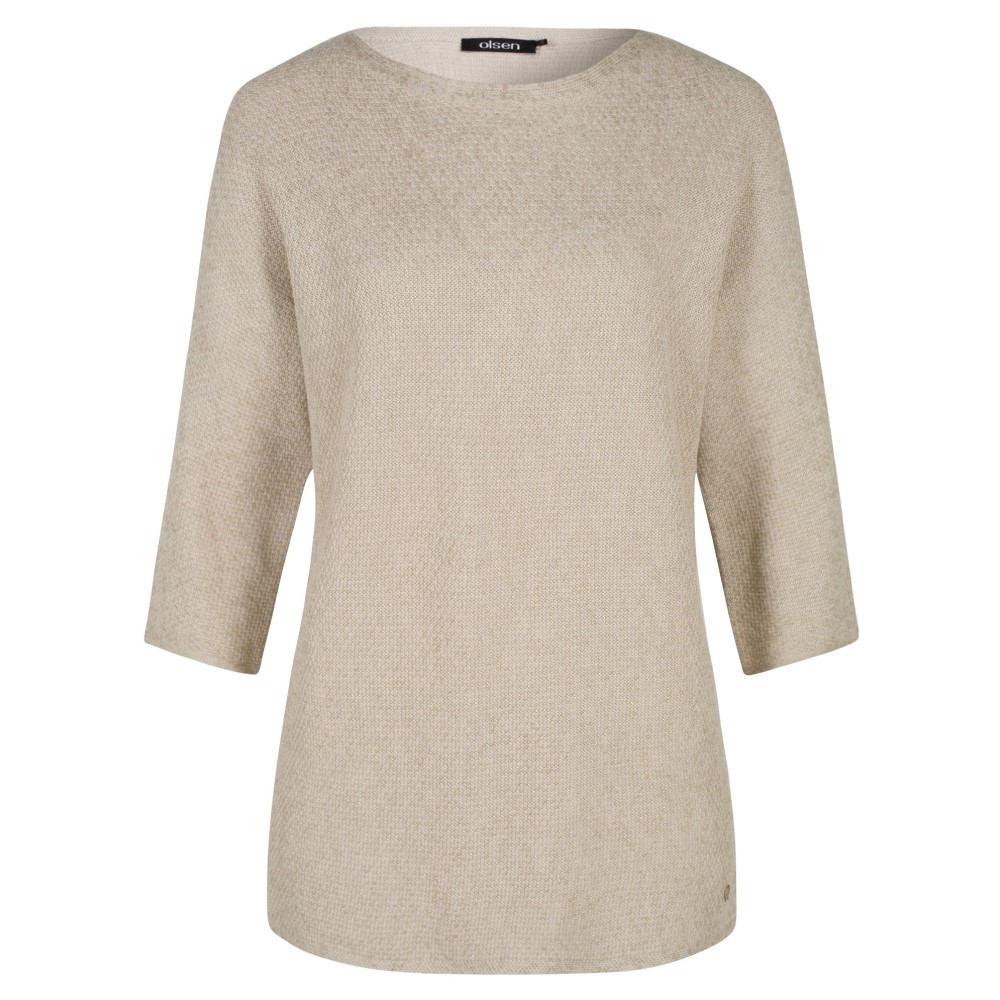 オルセン レディース トップス 長袖Tシャツ【Pullover Long Sleeves】beige