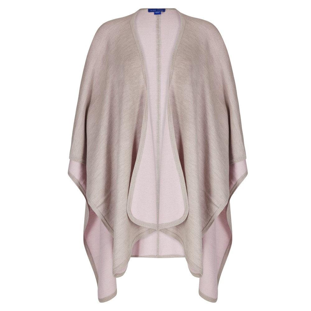 ウィンザー ロンドン レディース アウター ポンチョ【Merino Wool Reversible Poncho】multi-coloured