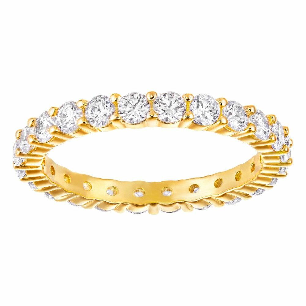 スワロフスキー レディース ジュエリー・アクセサリー 指輪・リング【Vittore Ring】gold
