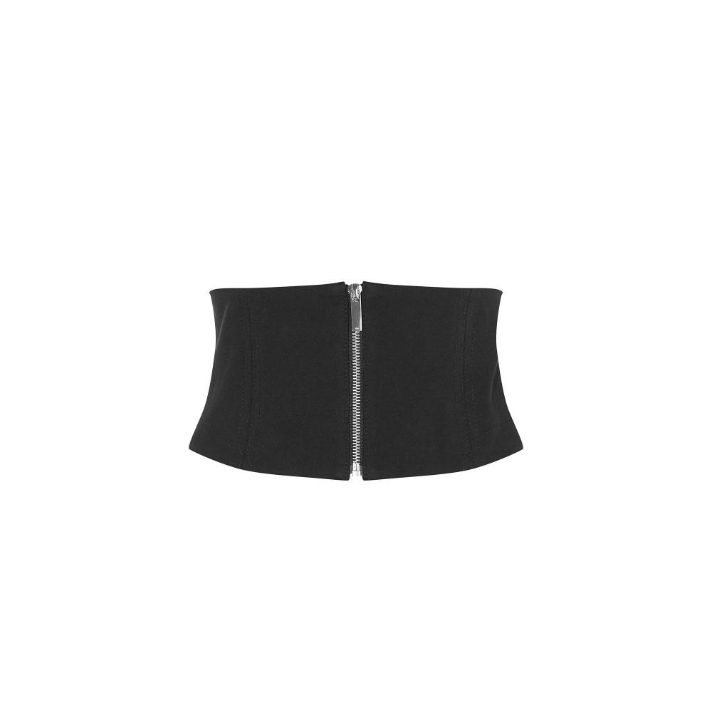 カレンミレン レディース ベルト�Leather Corset Belt】black