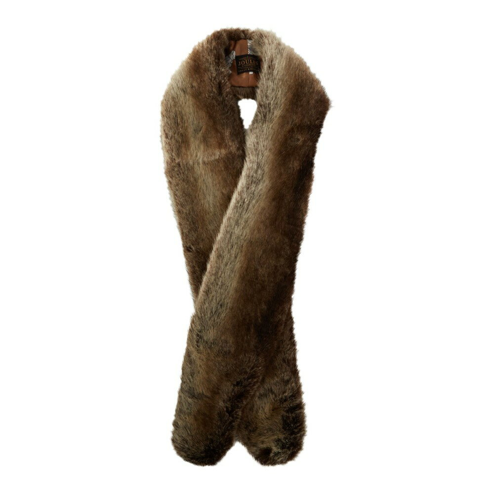 ジュールズ レディース マフラー・スカーフ・ストール【Colette Faux Fur Scarf】brown