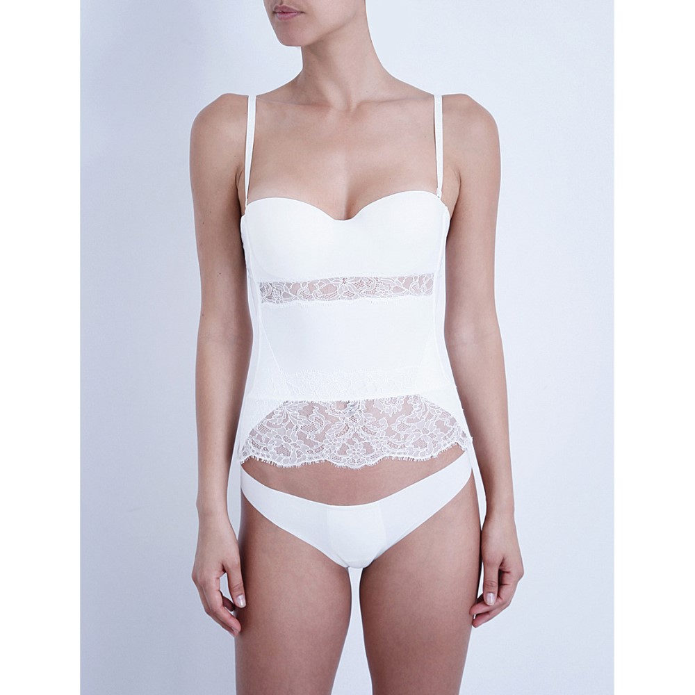 ラ ペルラ la perla レディース インナー ブラジャー【shape-allure lace corset】Ivory