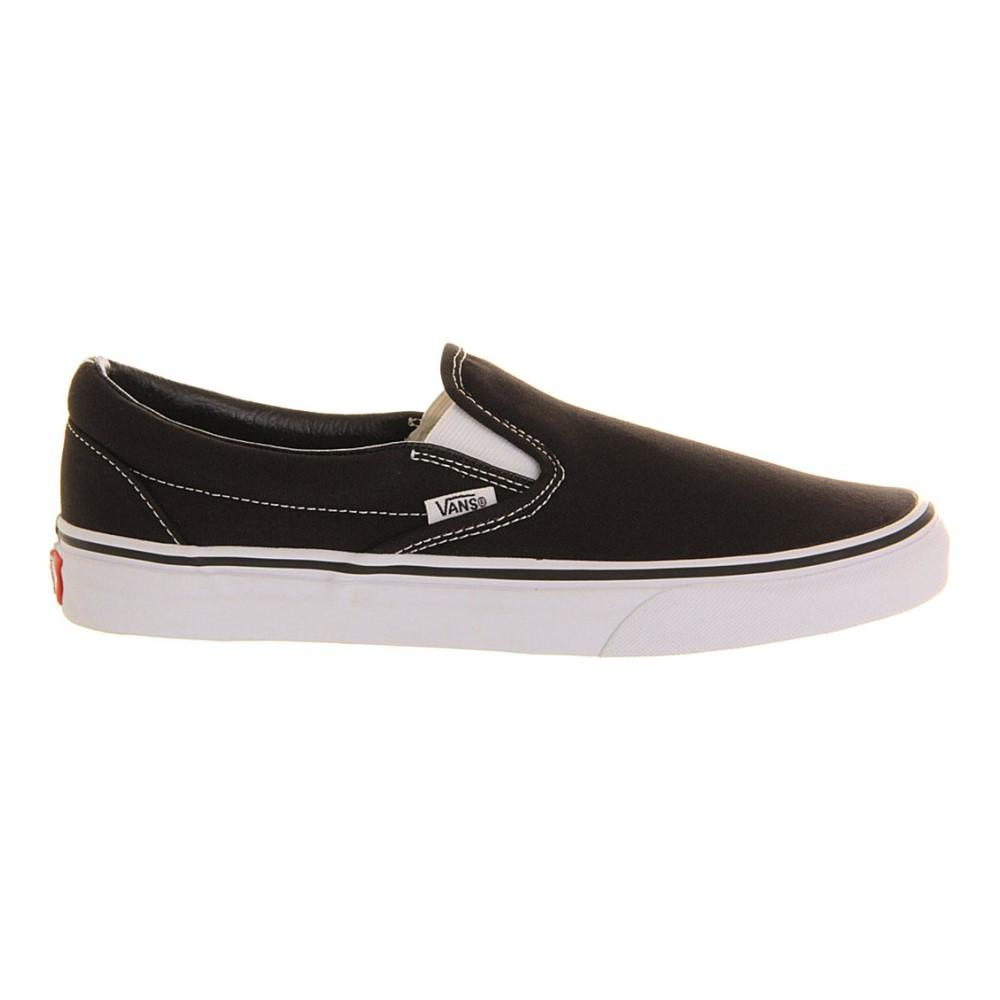 ヴァンズ vans メンズ シューズ・靴 スニーカー【classic slip-on trainers】Black white