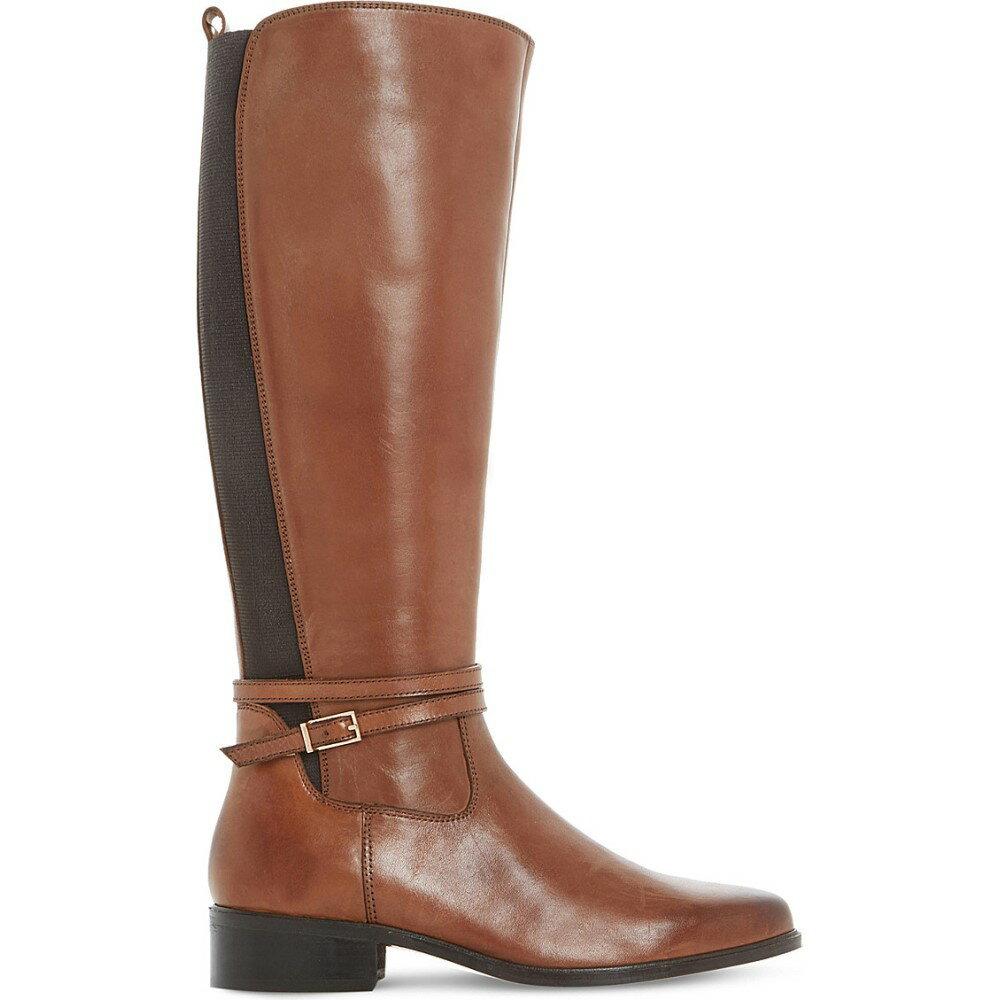 デューン dune レディース シューズ・靴 ブーツ【taro leather knee-high boots】Brown-leather