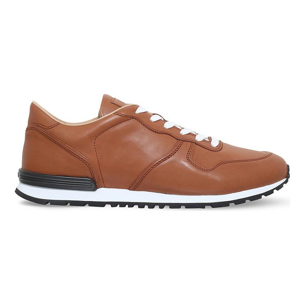 トッズ tods メンズ シューズ・靴 スニーカー【active leather trainers】Tan