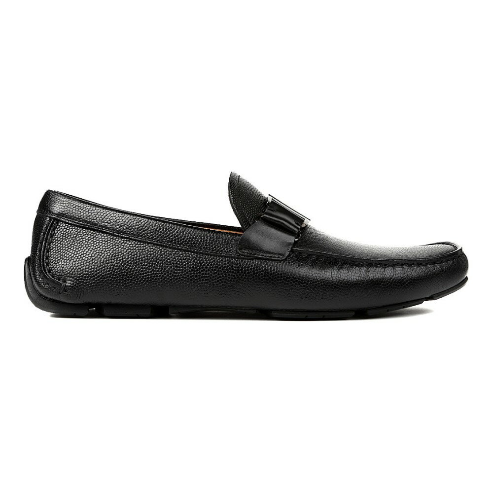 サルヴァトーレ フェラガモ salvatore ferragamo メンズ シューズ・靴 ドライビングシューズ【sardenga buckle driver shoes】Black