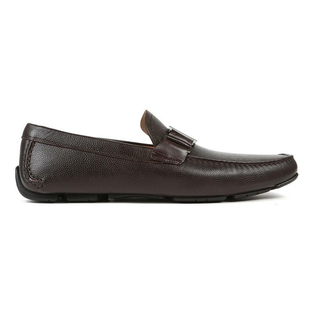 サルヴァトーレ フェラガモ salvatore ferragamo メンズ シューズ・靴 ドライビングシューズ【sardenga buckle driver shoes】Brown