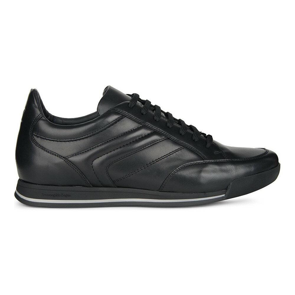 エルメネジルド ゼニア ermenegildo zegna メンズ シューズ・靴 スニーカー【milano lo pro shoes】Black