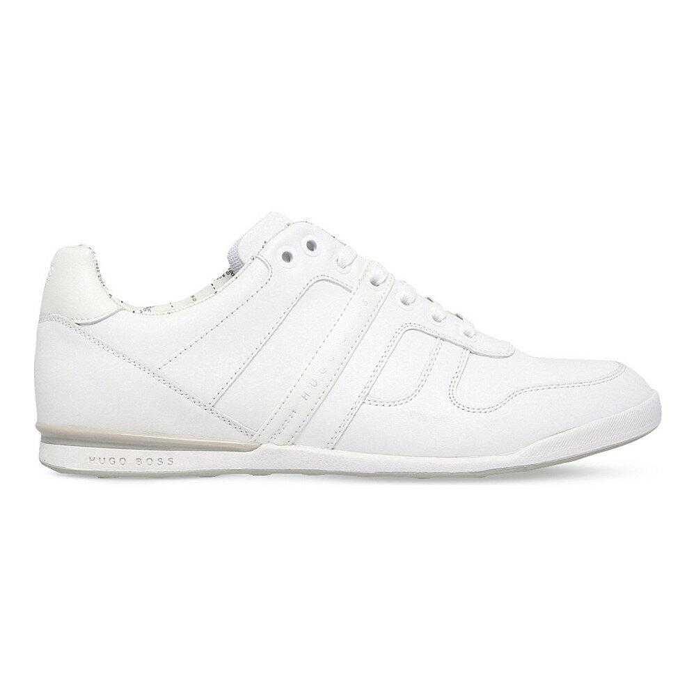 ヒューゴ ボス hugo boss メンズ シューズ・靴 スニーカー【g arkansas leather trainers】White