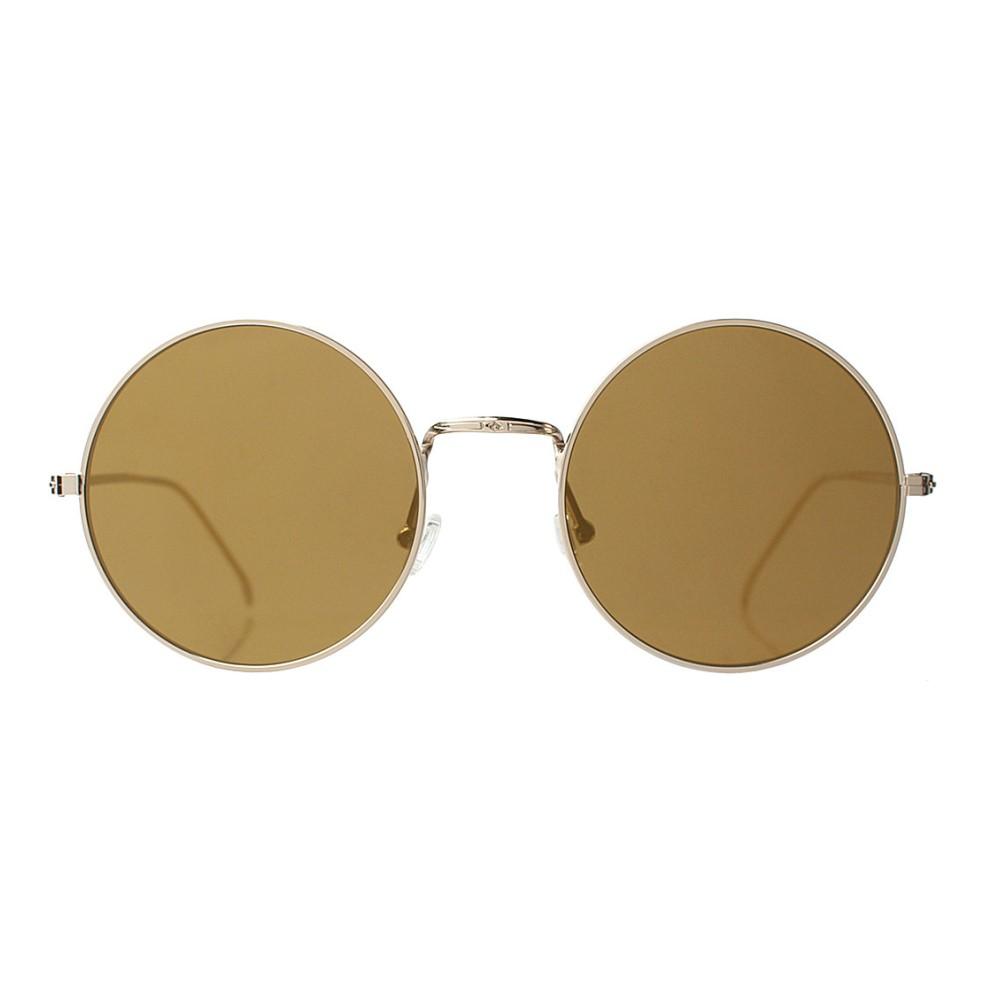 イレステーバ illesteva レディース アクセサリー メガネ・サングラス【porto cervo round-frame mirrored sunglasses】Silver with gold mir