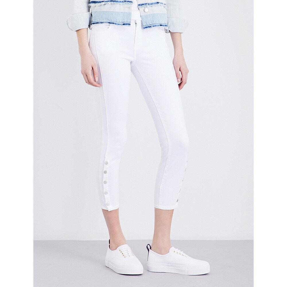 ジェイ ブランド j brand レディース ボトムス ジーンズ【suvi skinny mid-rise jeans】White