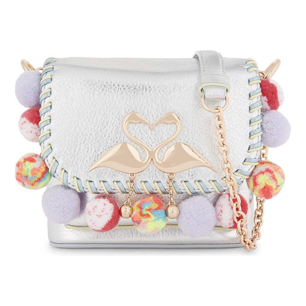 ソフィア ウェブスター sophia webster レディース バッグ ショルダーバッグ【claude flamingo leather cross-body bag】Rainbow sorbet