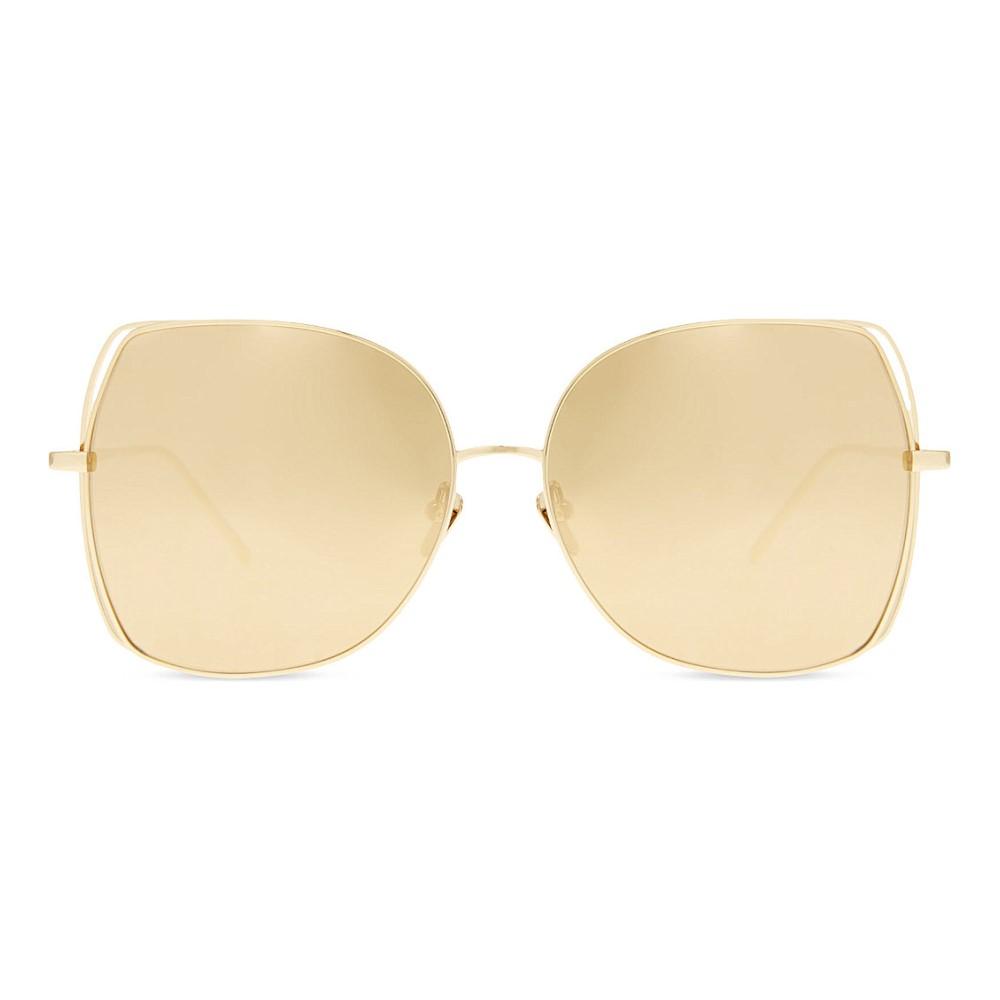 リンダ ファロー linda farrow レディース アクセサリー メガネ・サングラス【lfl590 oversized sunglasses】Gold