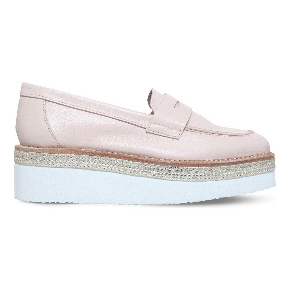 カーベラ carvela レディース シューズ・靴 ローファー【laughter leather flatform loafers】Nude