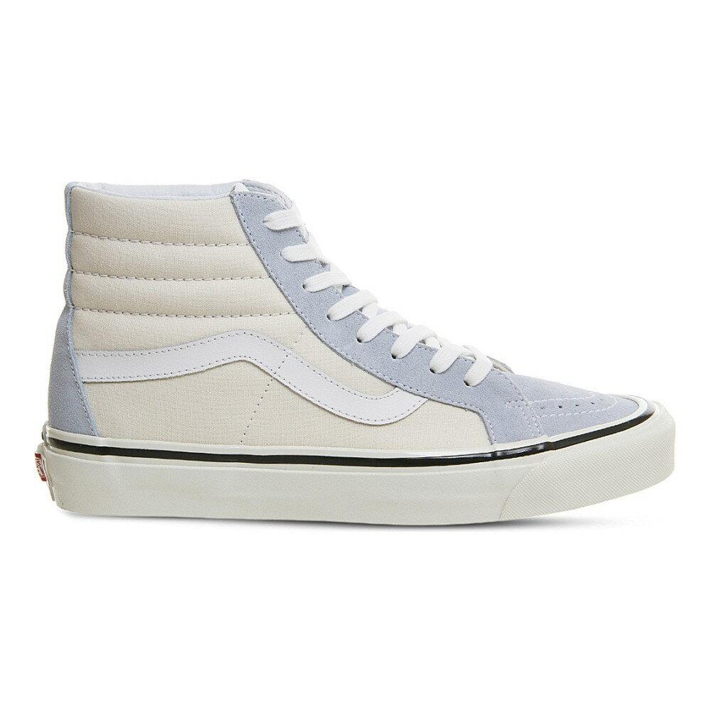 ヴァンズ vans レディース シューズ・靴 スニーカー【sk8 hi dx high-top trainers】Light blue white