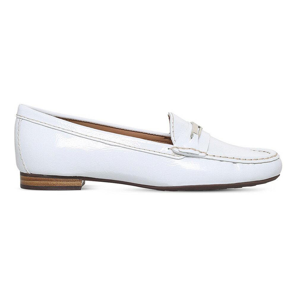 カーヴェラコンフォート carvela comfort レディース シューズ・靴 ローファー【charlotte leather loafers】White