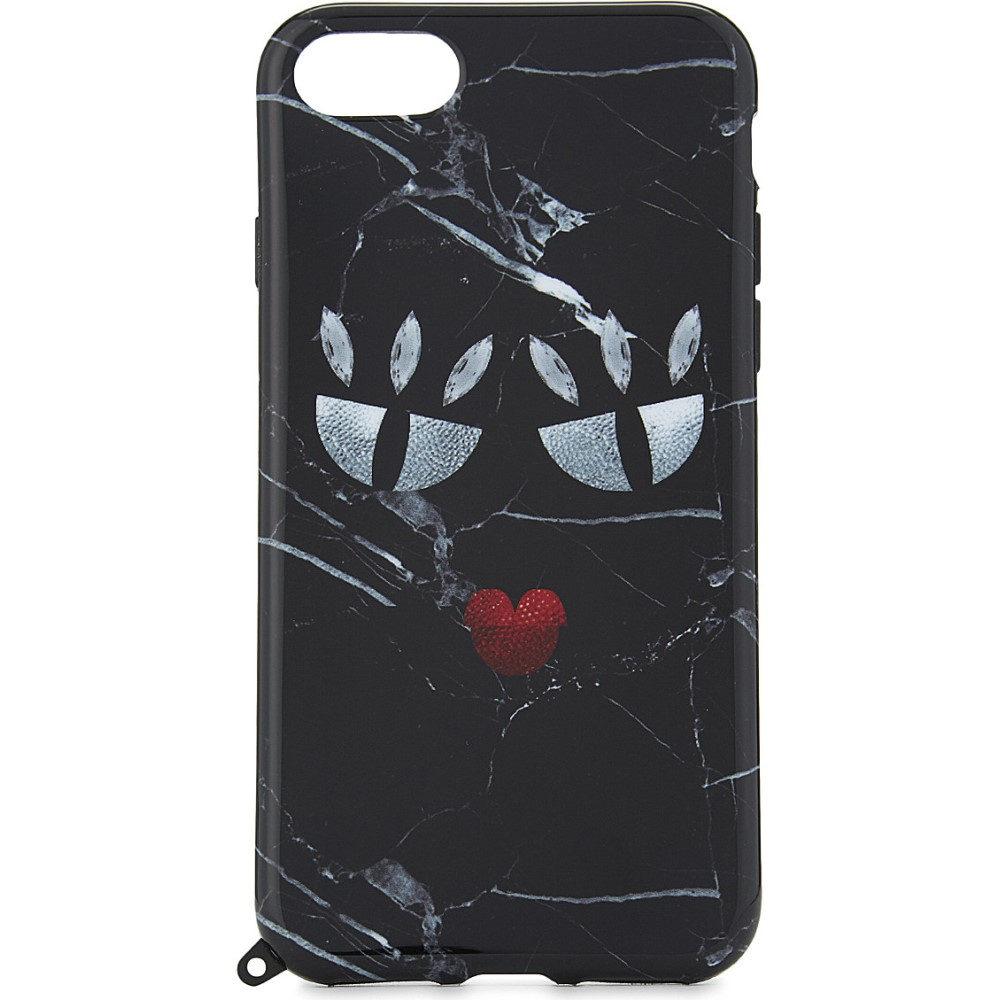 アイフォリア iphoria レディース アクセサリー iPhoneケース�monster black marble iphone 7 case】Multi