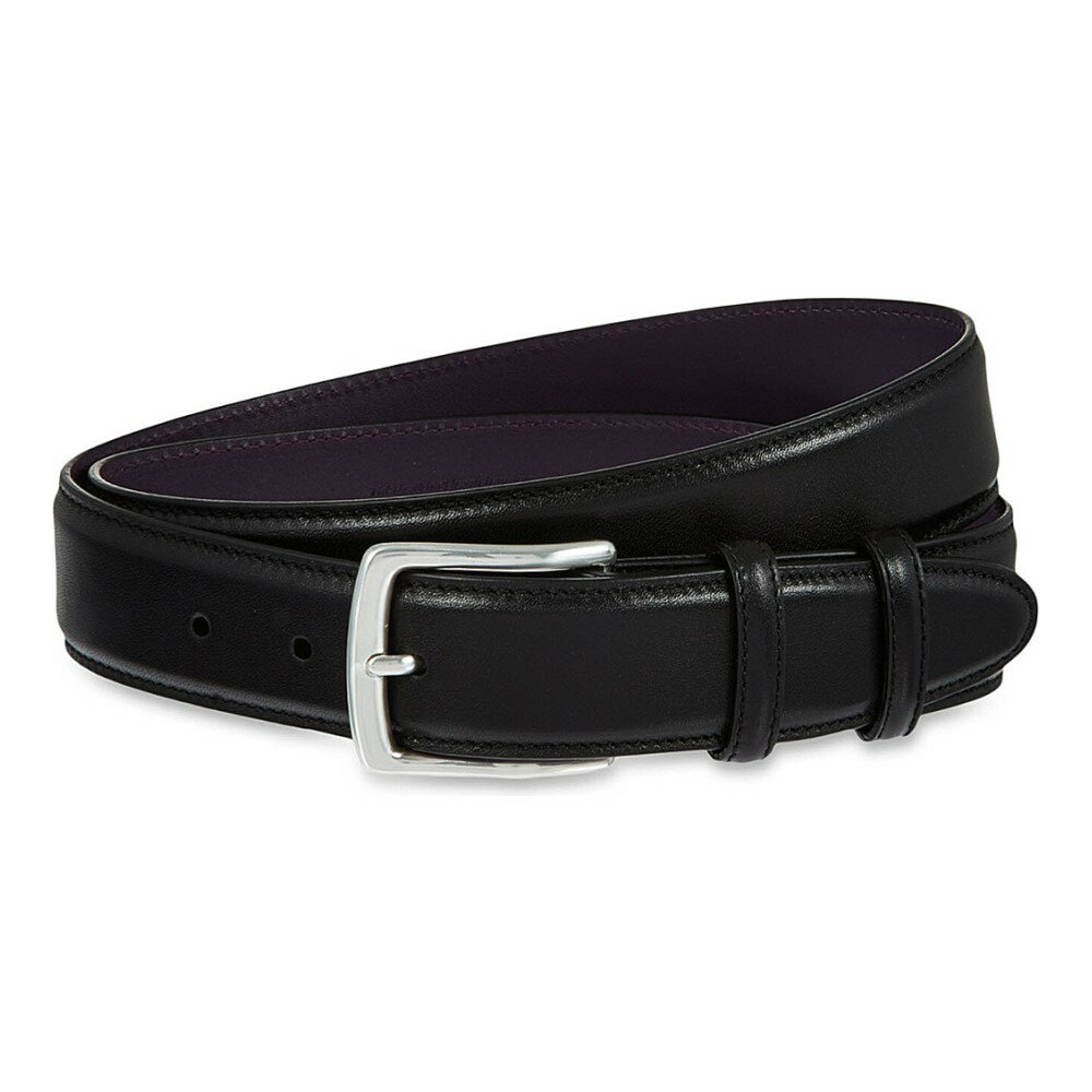 エリオットローズ elliot rhodes メンズ アクセサリー ベルト【nappa leather belt】Black