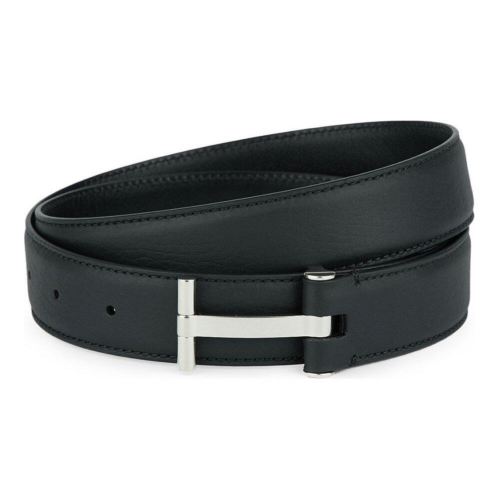 トム フォード tom ford メンズ アクセサリー ベルト【t-buckle leather belt】Black