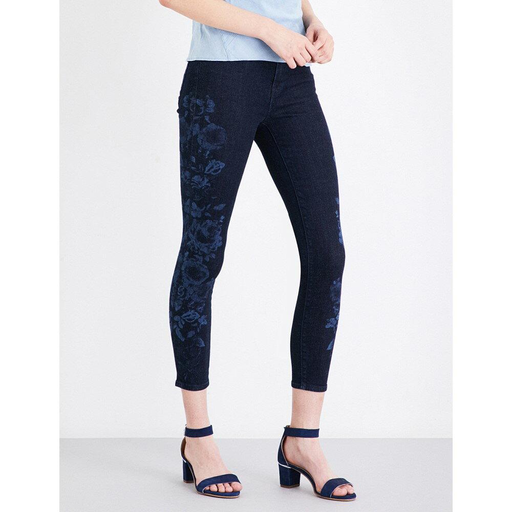 ジェイ ブランド j brand レディース ボトムス スキニー【alana skinny high-rise jeans】Indigo blossom