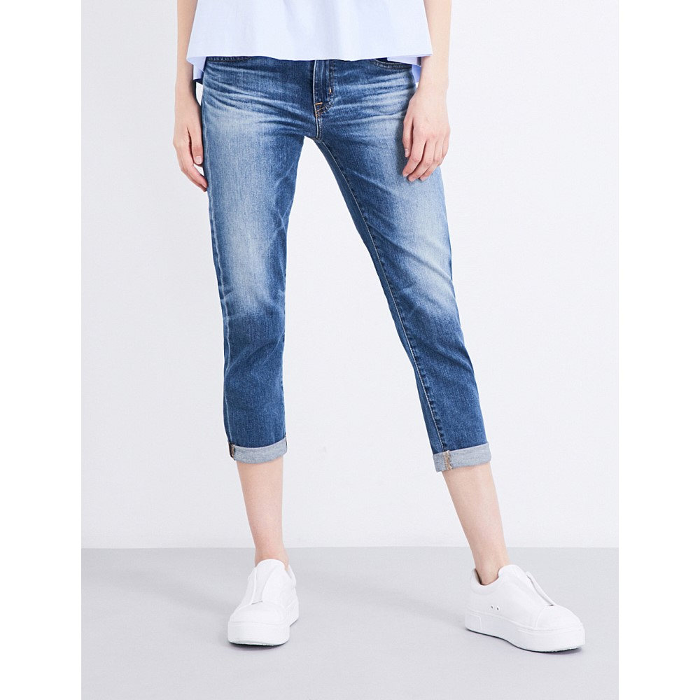エージー ag レディース ボトムス ジーンズ【the ex-boyfriend cropped mid-rise jeans】Ex boyfriend slim