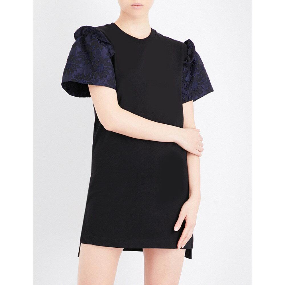 プリズム prism レディース トップス ワンピース【prism x mother of pearl rena cotton-jersey t-shirt dress】Blue