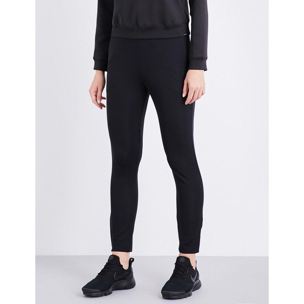 コラール koral レディース ボトムス トラウザーズ【revival stretch-jersey jogging bottoms】Black