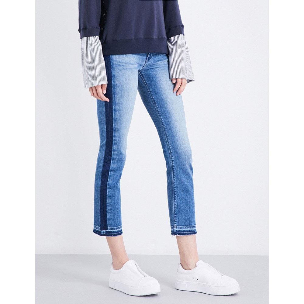 ハドソンジーンズ hudson jeans レディース ボトムス ジーンズ【tilda released-hem cigarette cropped mid-rise jeans】Impulse