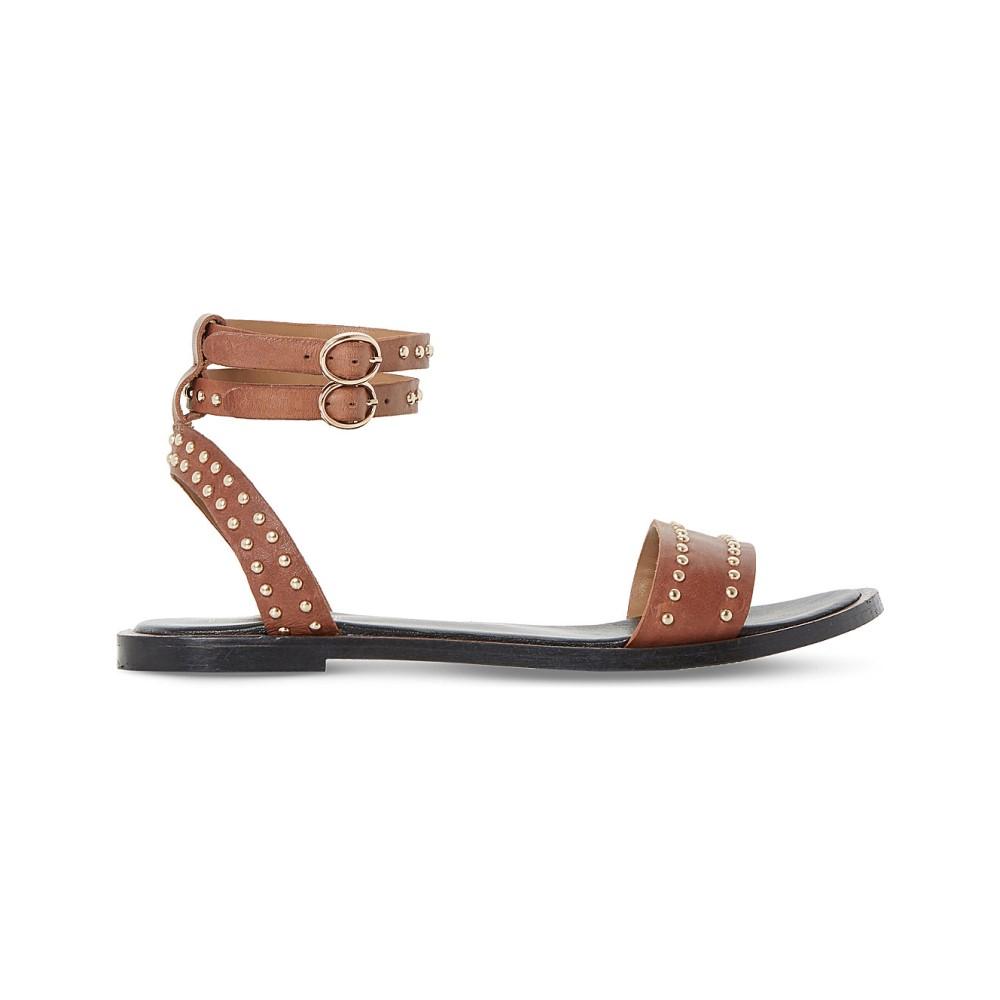 デューン dune レディース シューズ・靴 サンダル【lagoma pin stud leather sandals】Tan-leather