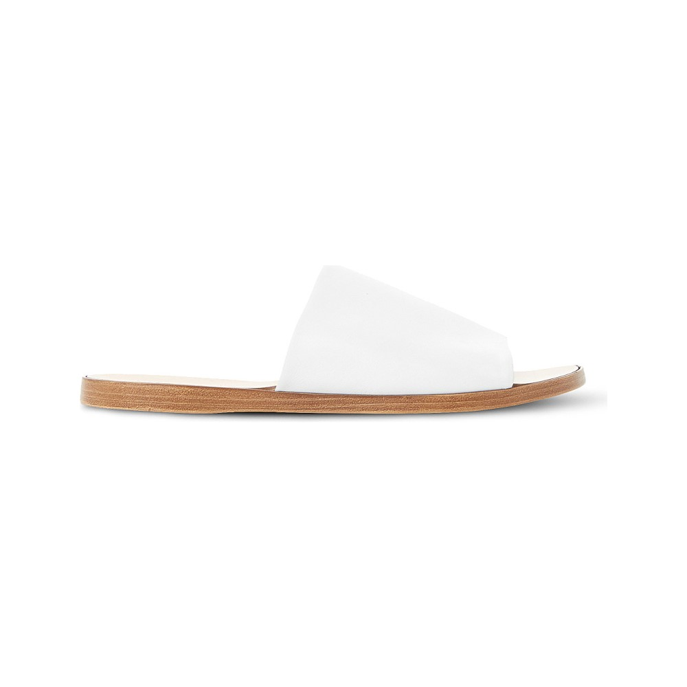 デューン dune レディース シューズ・靴 サンダル【leny leather mules】White-leather