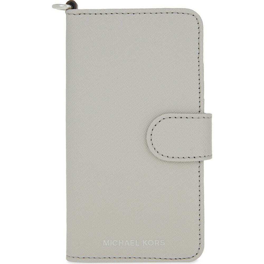 マイケル コース michael michael kors レディース アクセサリー iPhone (7)ケース【saffiano leather folio iphone 7 case】Aluminum