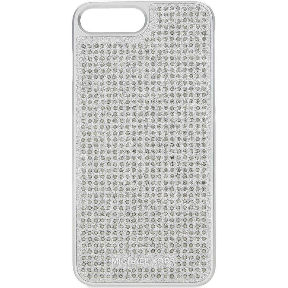 マイケル コース michael michael kors レディース アクセサリー iPhone (7Plus)ケース【crystals & glitter iphone 7 plus case】Silver