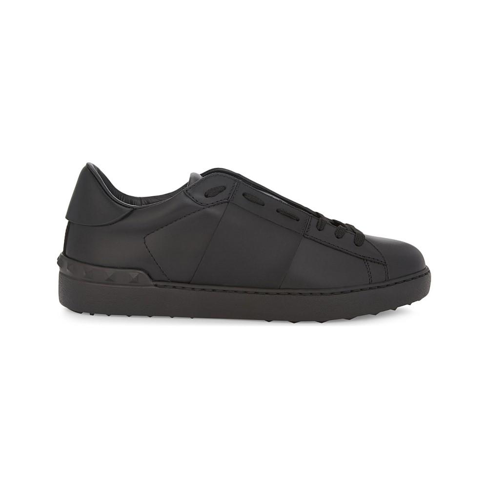 ヴァレンティノ valentino メンズ シューズ・靴 スニーカー【rockstud leather sneakers】Black