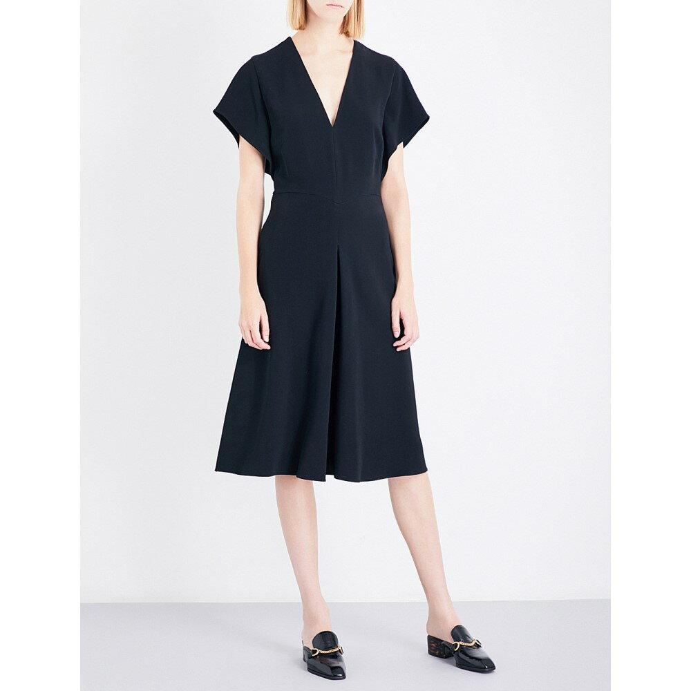 ステラ マッカートニー stella mccartney レディース ワンピース・ドレス ワンピース【andrea crepe dress】Black