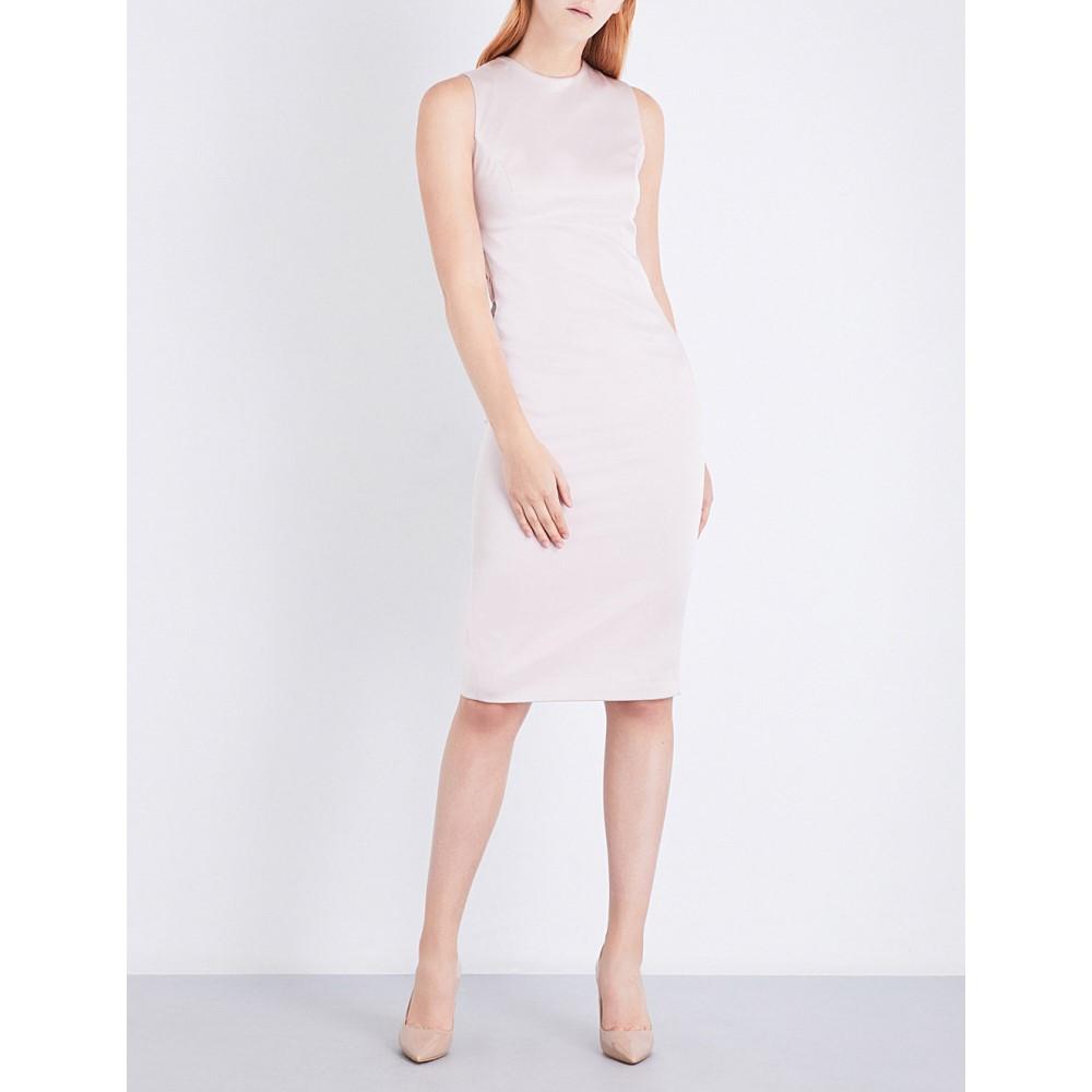 ミシャコレクション misha collection レディース ワンピース・ドレス ワンピース【nikki sleeveless satin-crepe dress】Blush