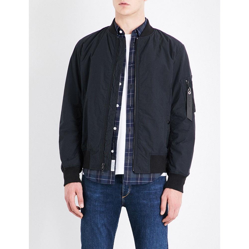 ラグ&ボーン rag & bone メンズ アウター ジャケット【manston cotton jacket】Black