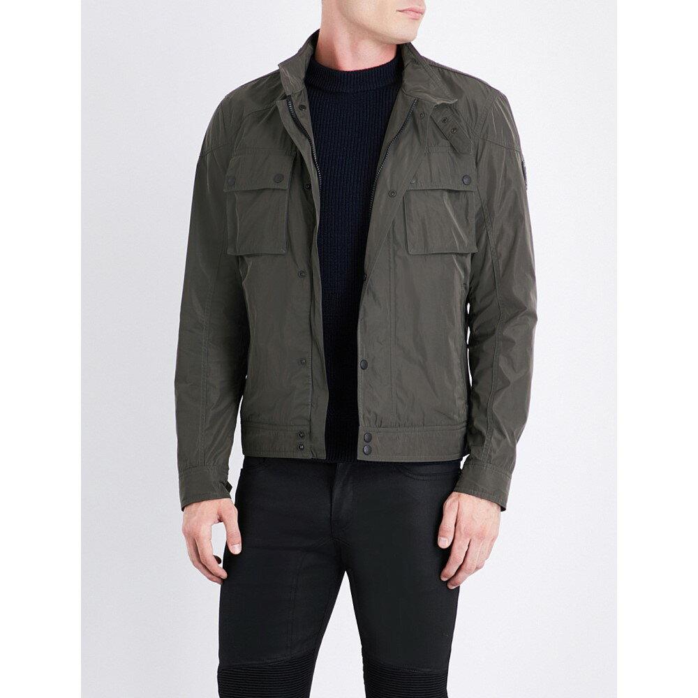 ベルスタッフ belstaff メンズ アウター ジャケット【racemaster shell jacket】Green